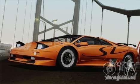 Lamborghini Diablo SV 1995 (ImVehFT) pour GTA San Andreas