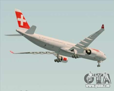 Airbus A330-300 Swiss International Air Lines pour GTA San Andreas vue de côté