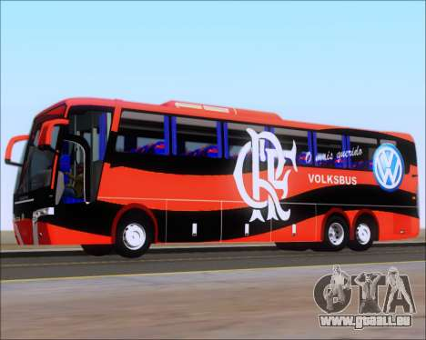 Busscar Elegance 360 C.R.F Flamengo für GTA San Andreas Räder