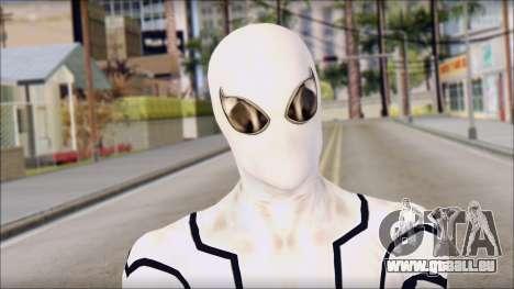 Future Foundation Spider Man pour GTA San Andreas troisième écran