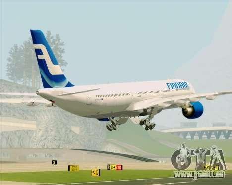 Airbus A330-300 Finnair (Old Livery) pour GTA San Andreas salon