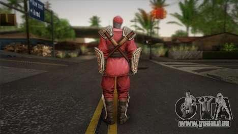 Foot Soldier Elite v1 pour GTA San Andreas deuxième écran