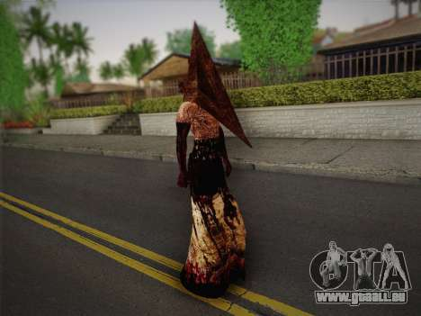 Pyramid Head From Silent Hill: Homecoming pour GTA San Andreas troisième écran