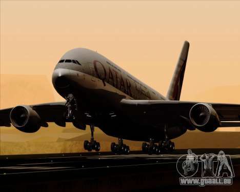 Airbus A380-861 Qatar Airways für GTA San Andreas