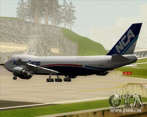 Boeing 747-8 Cargo Nippon Cargo Airlines pour GTA San Andreas