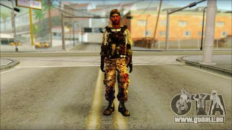 Taliban Resurrection Skin from COD 5 pour GTA San Andreas