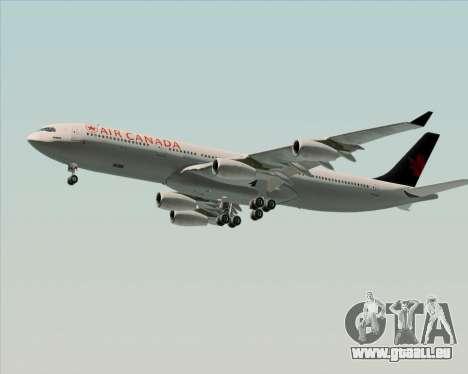 Airbus A340-313 Air Canada pour GTA San Andreas moteur