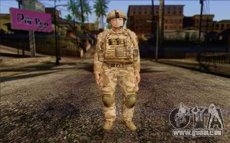 Britische Soldaten (ArmA II: BAF) v2 für GTA San Andreas