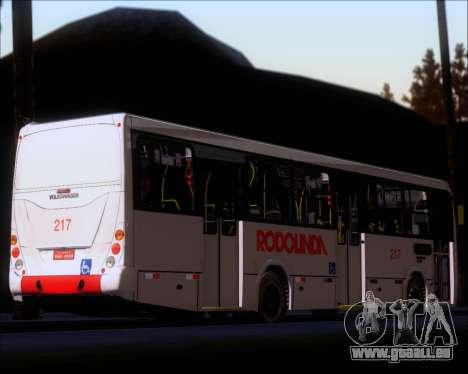 Marcopolo Torino G7 2007 - Volksbus 17-230 EOD pour GTA San Andreas vue de dessous