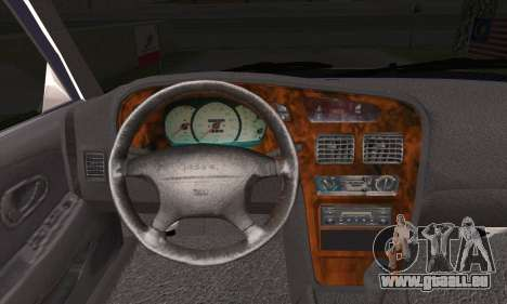 Proton Wira Official Malaysian Limousine für GTA San Andreas zurück linke Ansicht