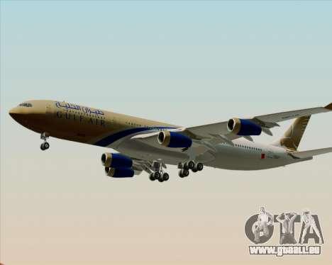 Airbus A340-313 Gulf Air pour GTA San Andreas moteur