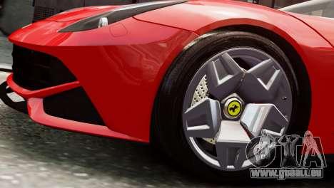 Ferrari F12 Roadster für GTA 4 rechte Ansicht