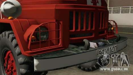 ZIL 131 - AL für GTA San Andreas Rückansicht