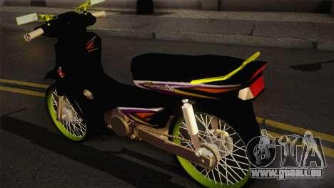 Honda Astrea pour GTA San Andreas laissé vue