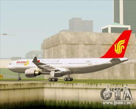 Airbus A330-200 Air China pour GTA San Andreas vue de droite