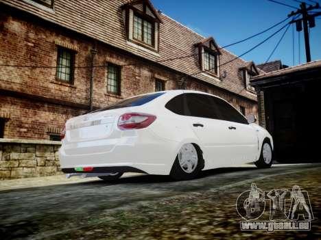 Lada Granta Liftback pour GTA 4 est un côté