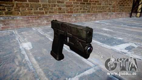 Pistolet Glock 20 kryptek typhon pour GTA 4
