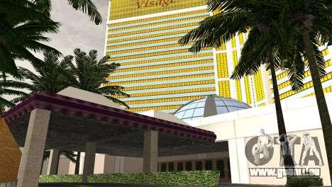 Neue Texturen casino Visage in Las Venturas für GTA San Andreas fünften Screenshot