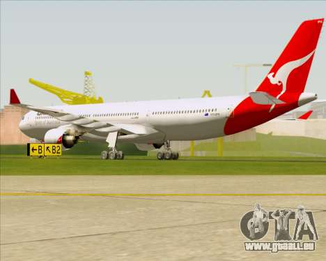 Airbus A330-300 Qantas für GTA San Andreas rechten Ansicht