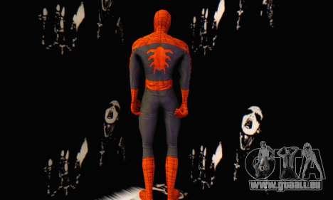 Skin The Amazing Spider Man 2 - Suit Edge Of Tim für GTA San Andreas zweiten Screenshot
