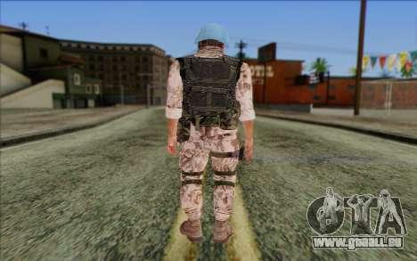 Tchèque Artisan De La Paix pour GTA San Andreas deuxième écran