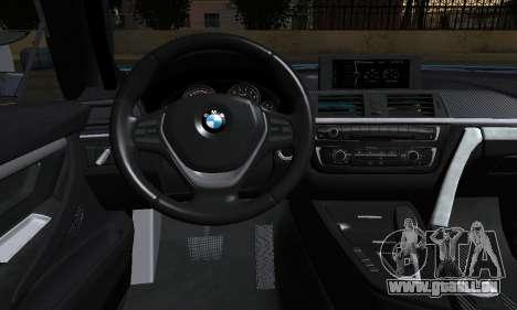 BMW M4 2014 für GTA San Andreas zurück linke Ansicht