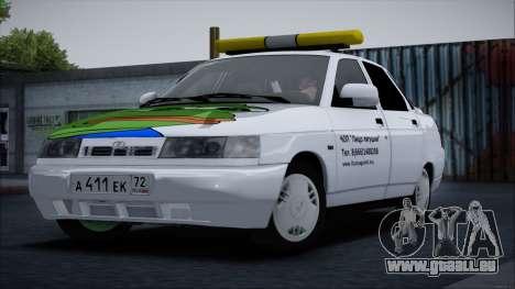 VAZ 2110 Gesicht Frosch für GTA San Andreas