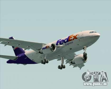 Airbus A310-300 Federal Express pour GTA San Andreas laissé vue