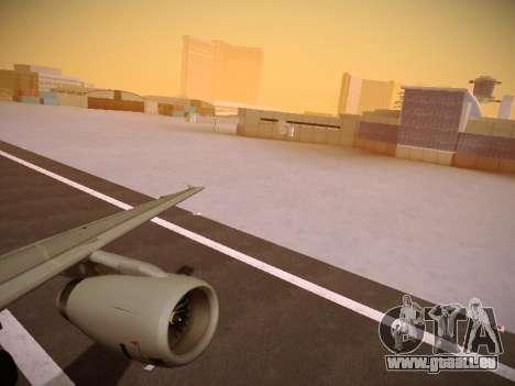 Airbus A319-132 Germanwings pour GTA San Andreas vue intérieure