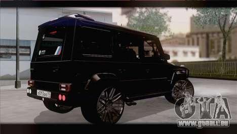 Brabus B65 v1.0 für GTA San Andreas linke Ansicht