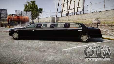 GTA V Albany Washington Limousine für GTA 4 linke Ansicht