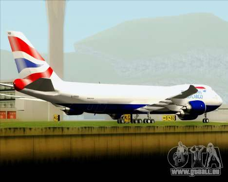 Boeing 747-8 Cargo British Airways World Cargo für GTA San Andreas Motor