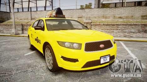 GTA V Vapid Taurus Taxi LCC für GTA 4