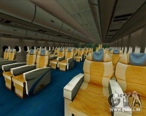 Airbus A380-861 Qatar Airways pour GTA San Andreas roue