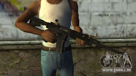 CAR-4 from Pay Day 2 pour GTA San Andreas troisième écran