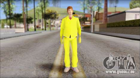 Marty with Radiation Protection Suit 1985 pour GTA San Andreas
