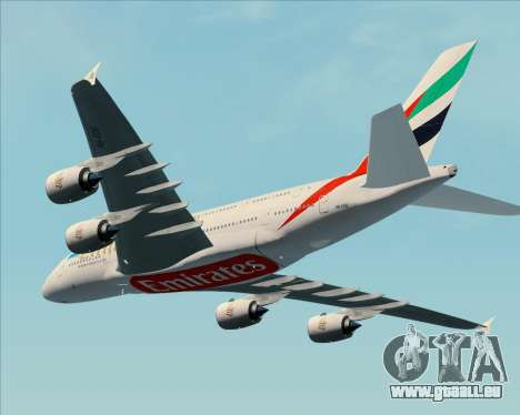 Airbus A380-841 Emirates pour GTA San Andreas