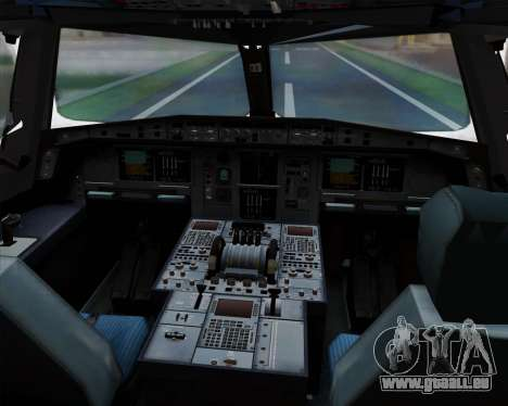 Airbus A380-841 China Southern Airlines für GTA San Andreas Innen