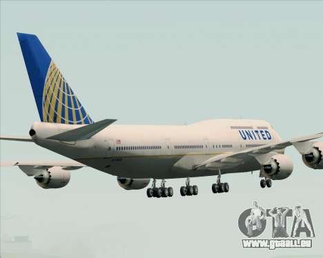Boeing 747-8 Intercontinental United Airlines für GTA San Andreas