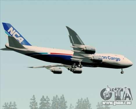 Boeing 747-8 Cargo Nippon Cargo Airlines für GTA San Andreas rechten Ansicht