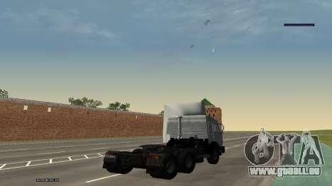 KamAZ-54115 für GTA San Andreas linke Ansicht
