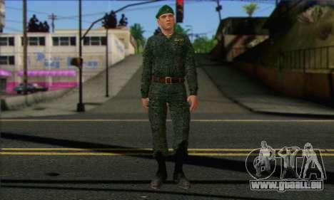 Private Motorisierte Gewehr Truppen. RAA v1 für GTA San Andreas
