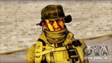 Recon from BF4 pour GTA San Andreas troisième écran