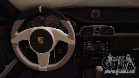 Porsche 911 GT3RSR für GTA San Andreas Rückansicht