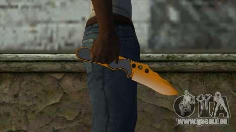 Nitro Knife pour GTA San Andreas troisième écran