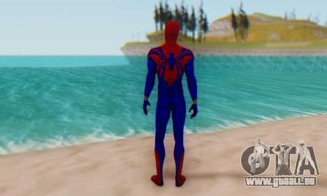 Skin The Amazing Spider Man 2 - Ben Reily für GTA San Andreas dritten Screenshot
