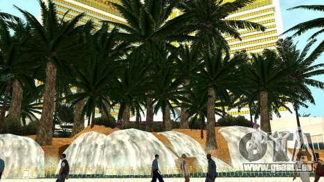 De nouvelles textures de casino Visage à Las Ven pour GTA San Andreas quatrième écran