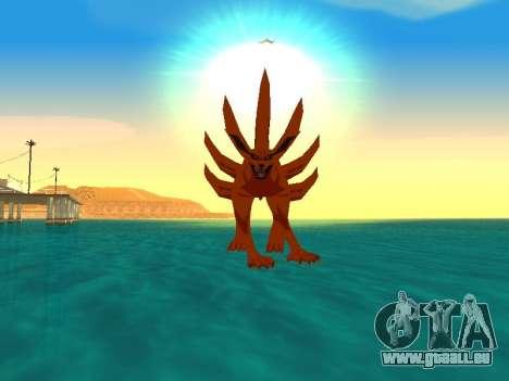 Der Kyubi Transformation für GTA San Andreas fünften Screenshot