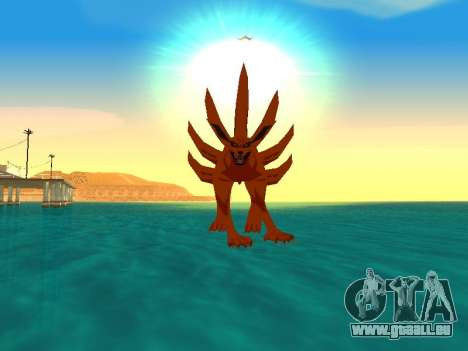 La Transformation De Kyubi pour GTA San Andreas cinquième écran