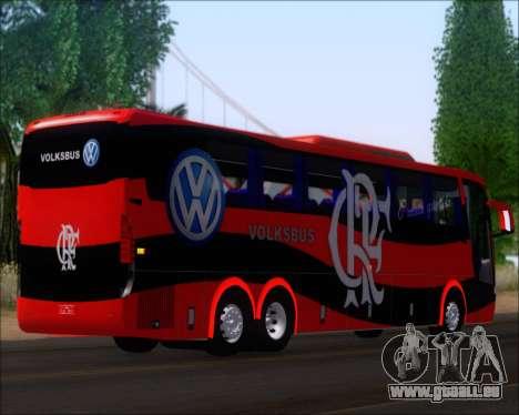 Busscar Elegance 360 C.R.F Flamengo für GTA San Andreas zurück linke Ansicht